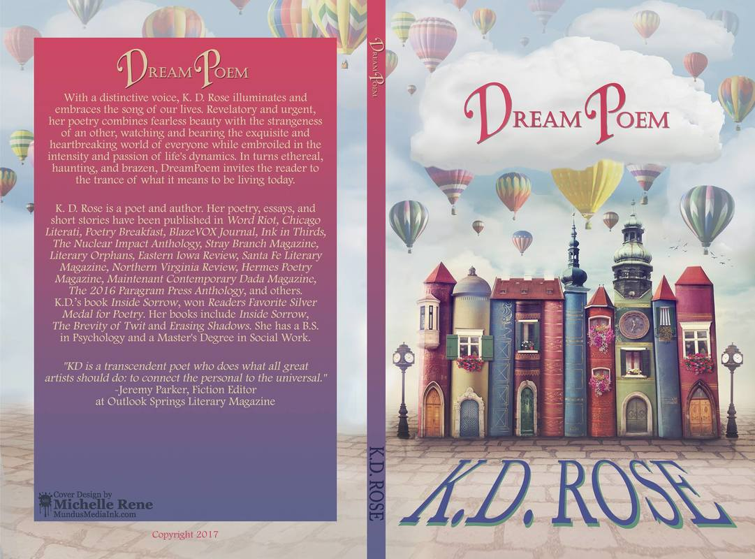 Cover Reveal from KD Rose! - Author and Artist Sheri Velarde
